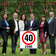 Die 40er Zone haben im Landhaus meist nur die Mitglieder der Landesregierung erreicht.