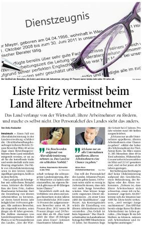 Die Tiroler Tageszeitung berichtet über diesen Missstand im Land Tirol