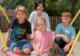Andrea Haselwanter-Schneider mit Kindern