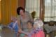 Andrea Haselwanter-Schneider bei einem Altersheimbesuch in Zirl