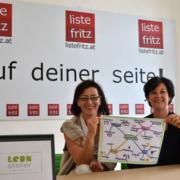 Andrea Kuyterink-Kastner vom Lernatelier und Andrea Haselwanter-Schneider von der Liste Fritz