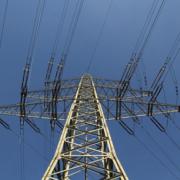 Ein Strommasten