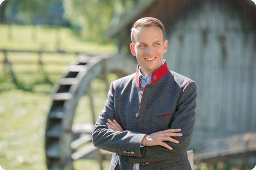 Klubobmann der Süd-Tiroler Freiheit Sven Knoll