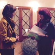 Übergabe der Unterschriften an Innsbrucks Bürgermeisterin Opptitz-Plörer