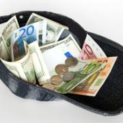 Eine Kappe voll Geld