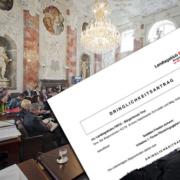 Ein Blick hinter die Kulissen des Tiroler Landtags