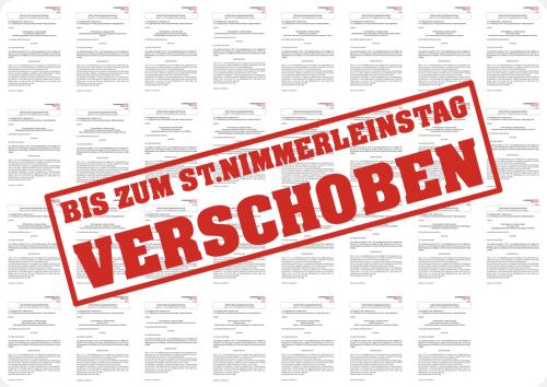 Fristsetzungsanträge der Liste Fritz