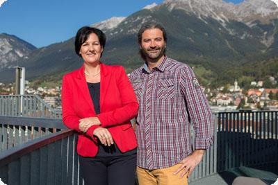 Andrea Haselwanter-Schneider und Markus Sint