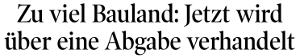 Bericht der Tiroler Tageszeitung zu Baulandabgabe