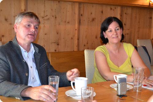 Peter Rauchegger und Andrea Haselwanter-Schneider