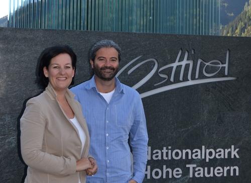 Andrea Haselwanter-Schneider und Markus Sint in Osttirol