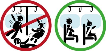 """Logo der Aktion """"Jedem Kind sein Sitzplatz im Schulbus"""""""