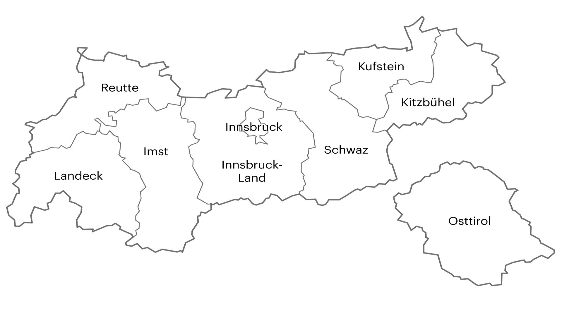 Liste Fritz Bezirke